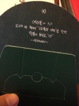 Everyone~ >_< Create once and see 'Miracles in December' together with EXO ♥ -Xiumin-