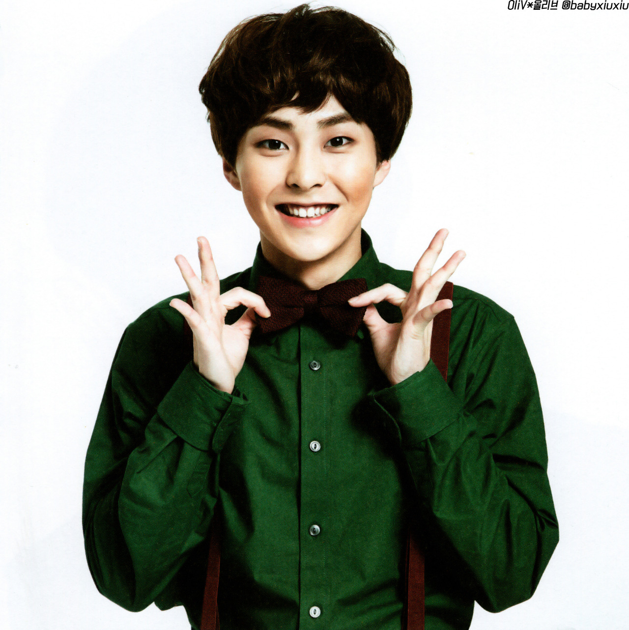 Xiumin: [HQ SCANS] EXO @ 'Miracles In December' Album Photos