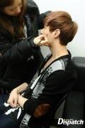 Yixing & make-up artist