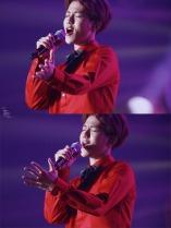 Baekhyun singing his heart out