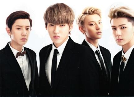 Chanyeol, Kris, Tao & Sehun