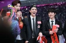 Chanyeol, Sehun & Kyungsoo