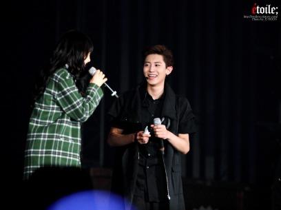 Chanyeol & special fan