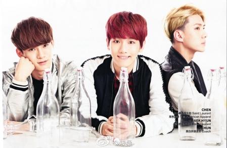 Chen, Baekhyun & Sehun