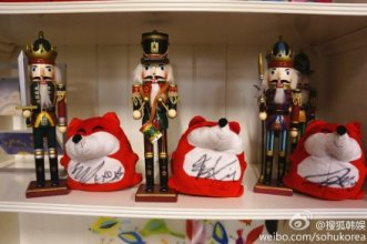Chen, Xiumin & Tao Autographed Little Foxes