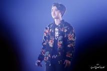D.O. in a flowery jacket