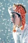 D.O. in a giraffe hat