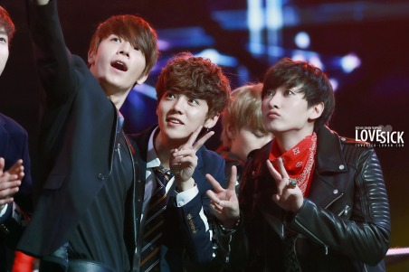 Donghae, Luhan & Eunhyuk