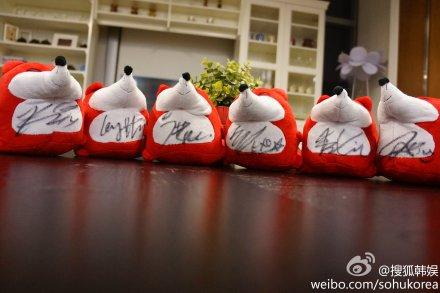 EXO-M Autographed Little Foxes