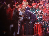 Huang Xiao Ming handshakes Kris