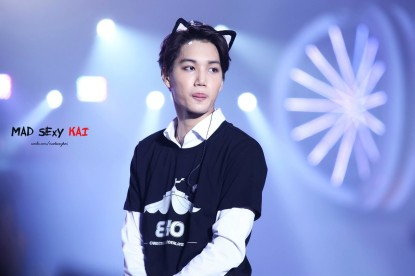 Kai and cat ears