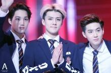 Kai, Sehun & Suho