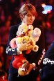 Kris and a lot of stuff animals