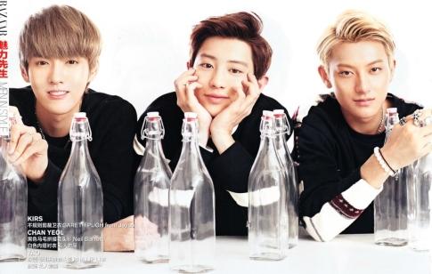 Kris, Chanyeol & Tao