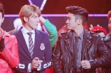 Kris & Siwon Stare-off contest
