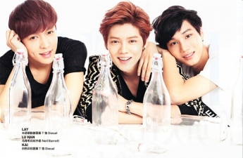 Lay, Luhan & Kai