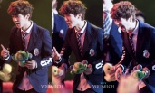 Luhan and his facial expressions
