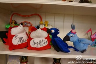 Luhan & Yixing Autographed Little Foxes