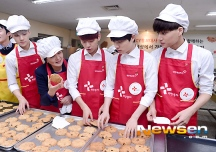 Sehun, Baekhyun, Kyungsoo & Kai