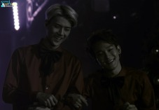 Sehun & Chen smiling widely