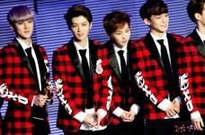 Sehun, Luhan, Xiumin & Chen