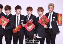 Suho, Chen, Xiumin, Baekhyun & Tao