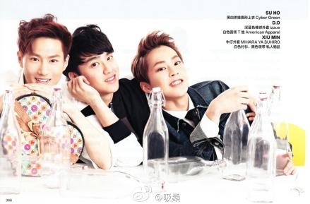 Suho, D.O. & Xiumin