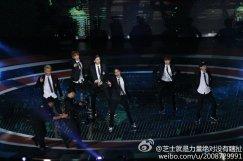 Tao, Baekhyun, Sehun, Kai, Xiumin & Chen