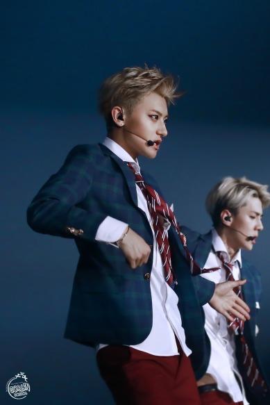 Tao & Sehun in school uniforms