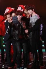 Xiumin, Chen, Ryeowook, Tao & Kyuhyun