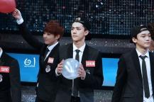 Xiumin, Sehun & Chen