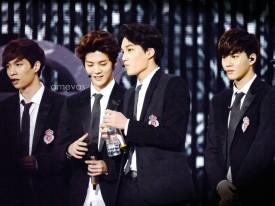 Yixing, Luhan, Kai & Suho