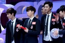 Yixing, Suho & Chanyeol
