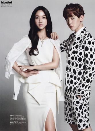 Tang Wei & Baekhyun