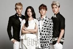 Tao, Tang Wei, Baekhyun, & Sehun