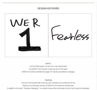 Baekhyun_We.R 1 & Fearless Meanings