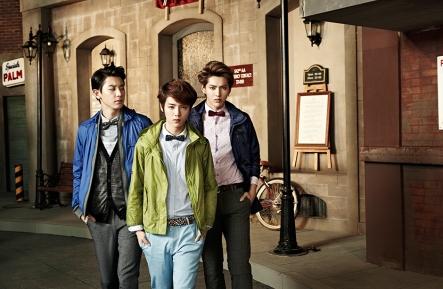 Chanyeol, Luhan & Kris