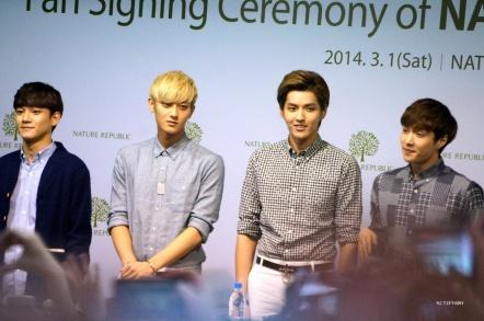 Chen, Tao, Kris, Lay