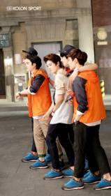 Kris, D.O., Luhan, Suho Chanyeol, Lay