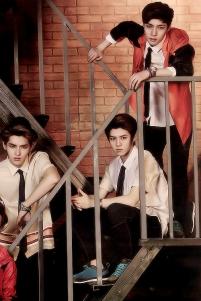 Kris, Luhan, Lay