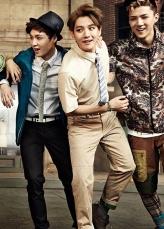 Lay, Baekhyun & Sehun