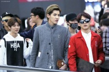 Luhan, Kris, Lay, Chen