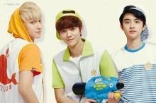 Tao, Baekhyun & D.O.