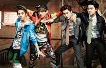Xiumin, Baekhyun, Suho, D.O.