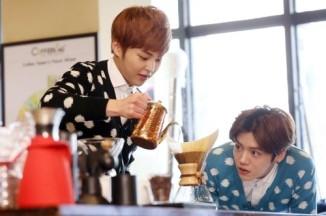 Xiumin & Luhan_Coffee_Time