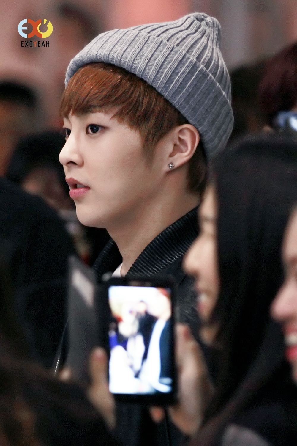 [AIRPORT PICS] EXO-M @ ICN Airport to/from Hong Kong ...