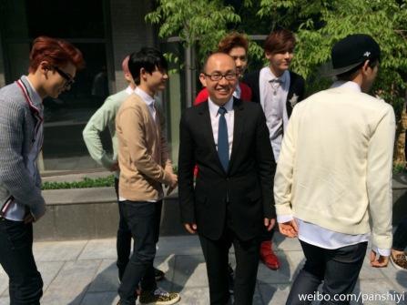 Chanyeol, D.O., Luhan & Kris