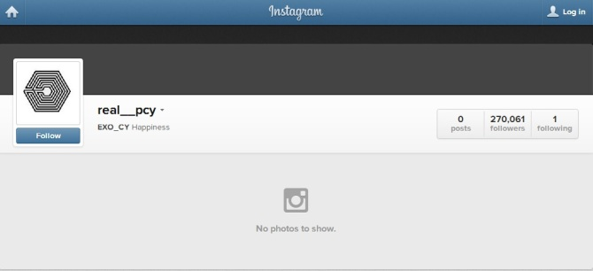 Chanyeol @ Instagram