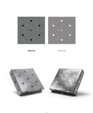 EXO Overdose Mini Album Covers