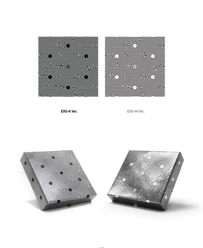 EXO Overdose Mini Album Covers